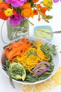 Zdrowa potrawa na talerzu